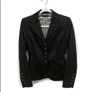 TAHARI Black Blazer Size 2